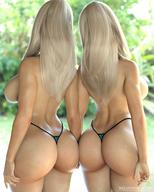 2girls 3d ass big_breasts blonde_hair breasts butt female female_only g-string panties smz-69 tina_(smz-69) topless trish_(smz-69) twins // 1080x1350 // 193.2KB
