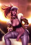1_futanari abs akali_(league_of_legends) alternative_costume areola_slip areolae ball_bulge breasts bulge erection flaccid futa_only futanari high_resolution intersex kda_(league_of_legends) kda_akali kda_akali_prestige_edition kda_series league_of_legends looking_at_viewer nipple_slip nipples penis personalami solo testicle_bulge testicles third-party_edit // 1088x1554 // 195.5KB